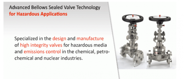 descote specializes in design and manufacture of high integrity valves