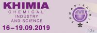 KHIMIA - Moscow - September 16/19, 2019